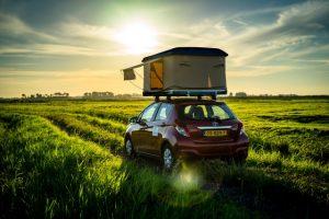 Dachzelt Miles Natur Ausblick Toyota