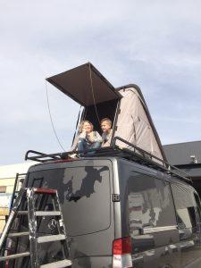 Dachzelt Hopper Transporter