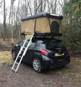 Dachzelt Miles Wald Peugeot