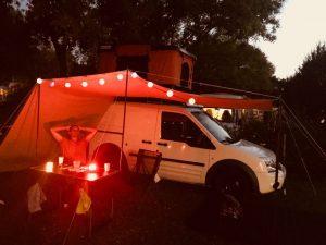 Dachzelt Miles Campingplatz Markise Gemütlich