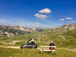 Dachzelt Hopper Ausblick Natur
